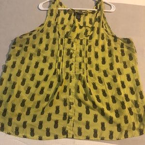 Torrid brand tank top blouse